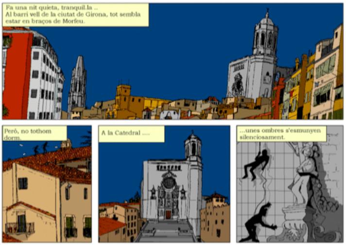 La Llegenda del Tapís, siset, siset.cat, aventura gràfica, còmic, les aventures d'en siset