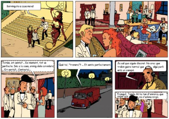 siset, siset.cat, aventura gràfica, còmic, les aventures d'en siset