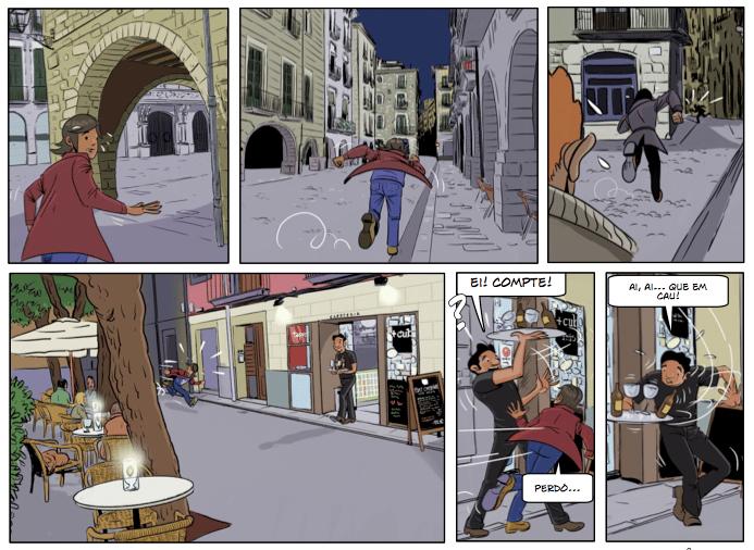 El tresor d'en Serrallongasiset, siset.cat, aventura gràfica, còmic