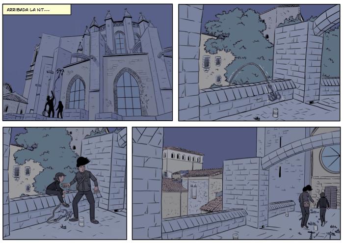 El tresor d'en Serrallonga, siset, siset.cat, aventura gràfica, còmic
